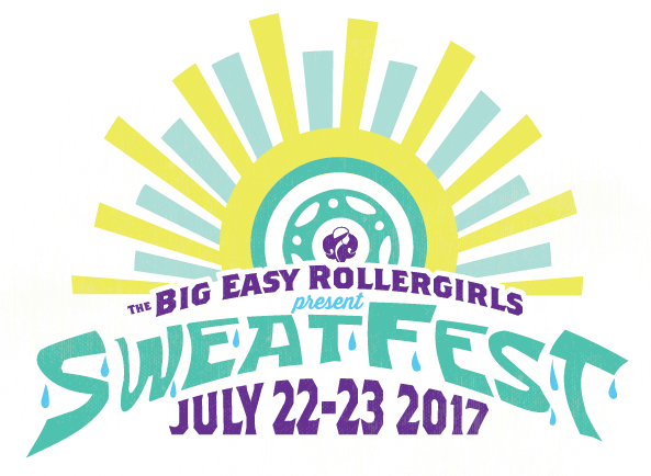 Big Easy Rollergirls present Sweatfest 2017
